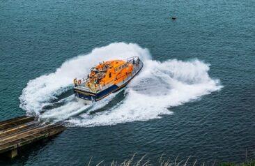 Life boat Cornwall